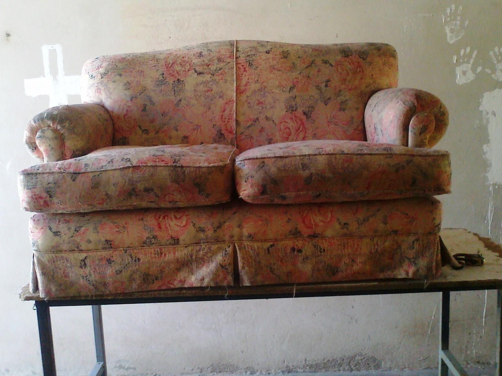 reciclado de sillas y sillones dos sillones de dos