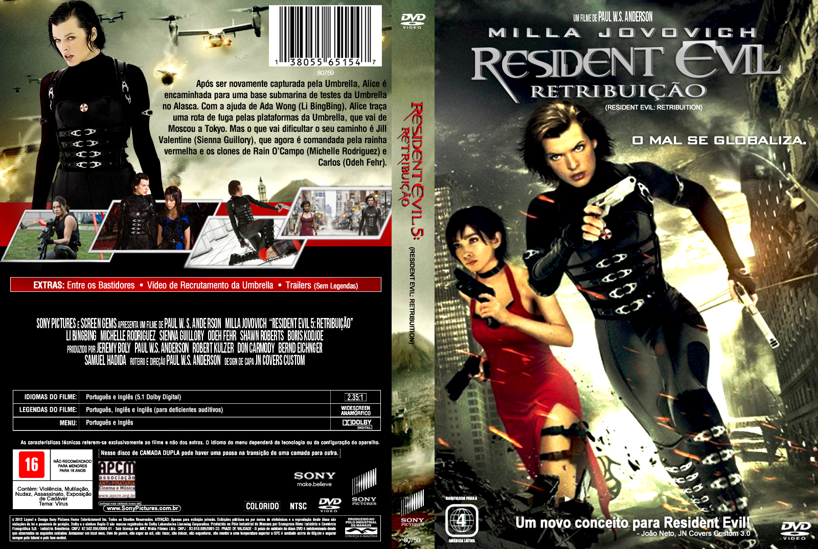 Resident evil movie ost