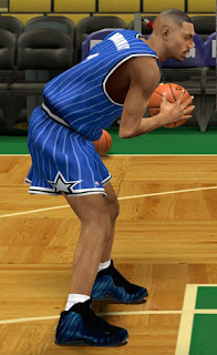 NBA 2K13 Nike Air Foamposite One Shoes Patch