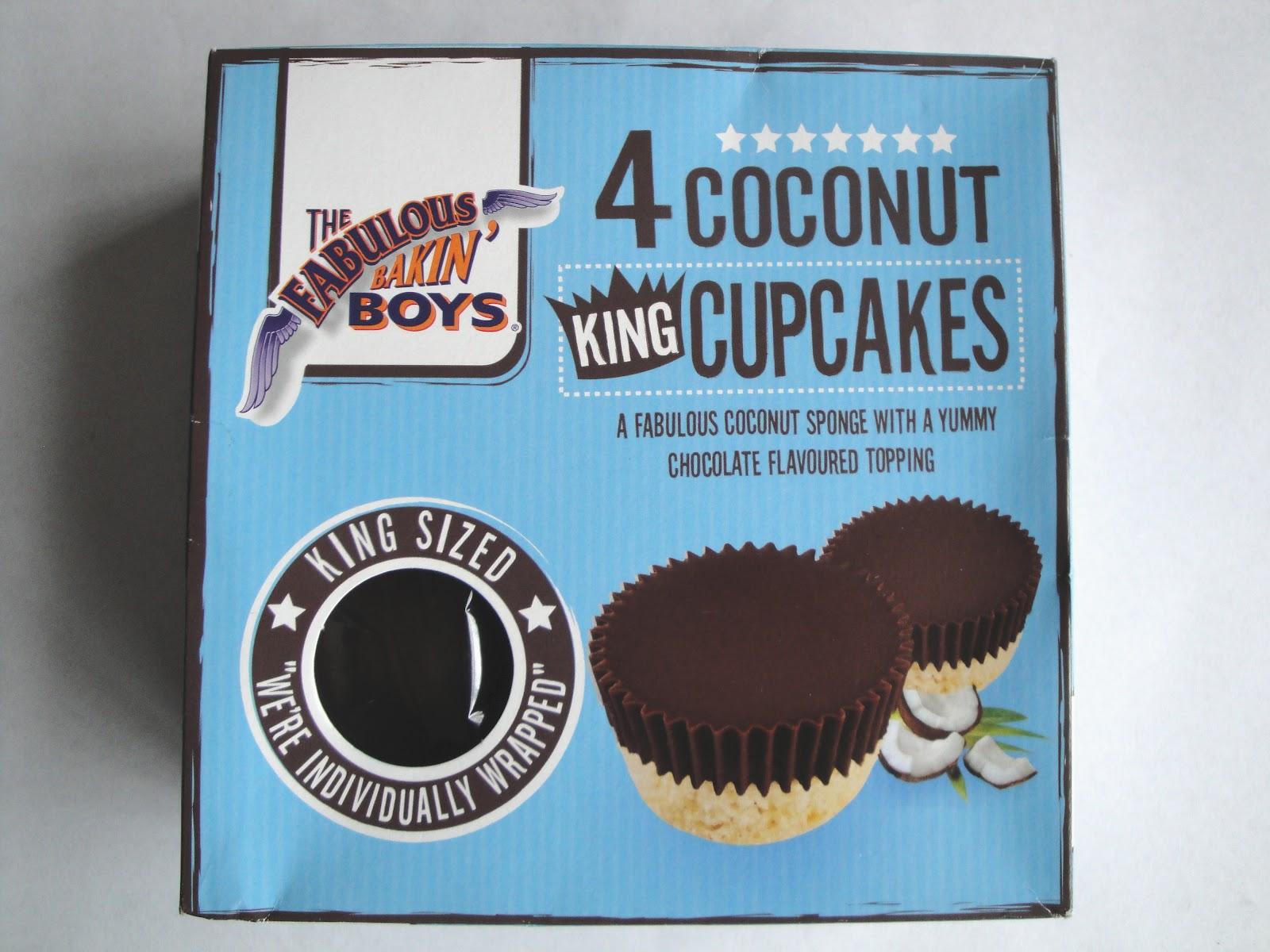 grocery gems fabulous bakin 39 boys 4 coconut king cupcakes. Black Bedroom Furniture Sets. Home Design Ideas