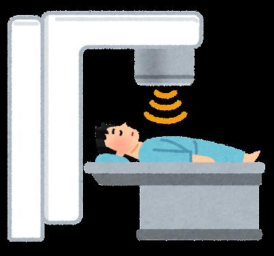 放射線治療・X線治療のイラスト