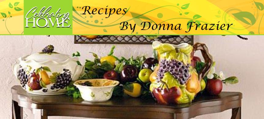 Celebrating Home Recipes