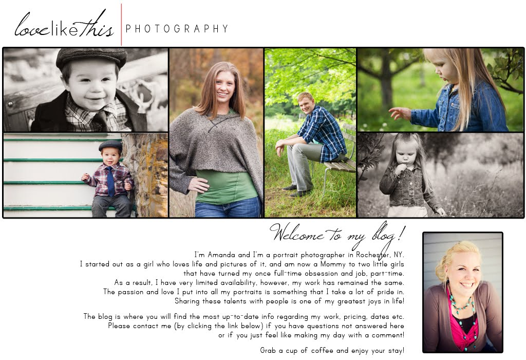 Love Like This Photography Blog - Rochester, NY wedding and portrait photographer