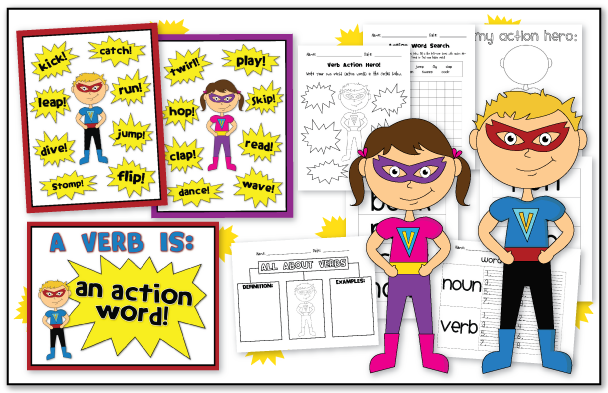 action verb unit is posted!