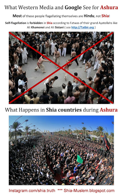 Shia Truth: Self Flagellation is forbidden in Shia during Ashura