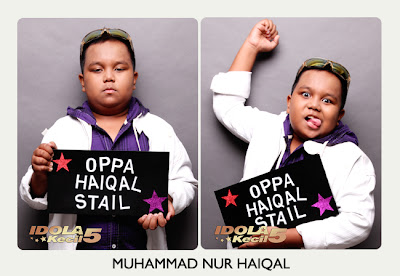 Haiqal Idola Kecil 5