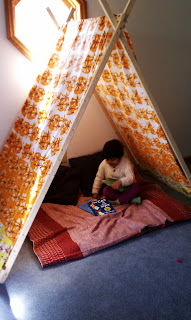 Reading nook / Tent - Desikalakar