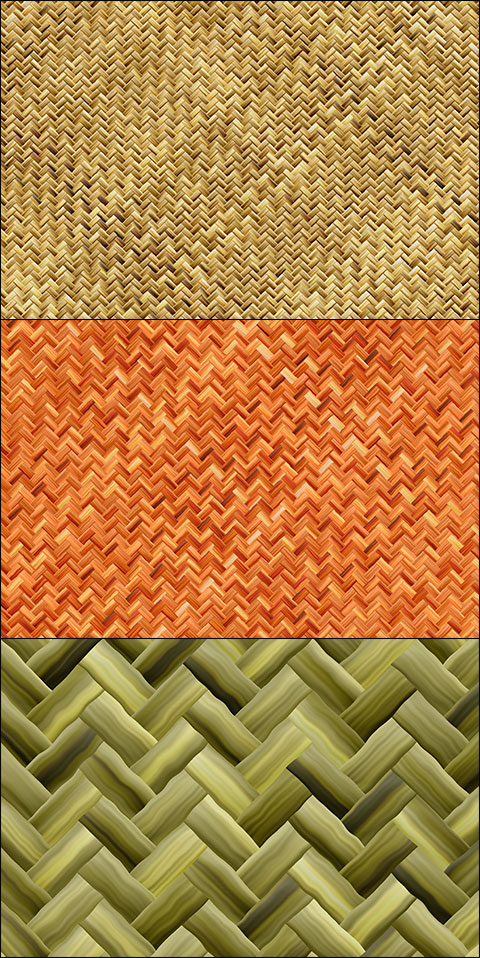 Basket weave free PSD patterns