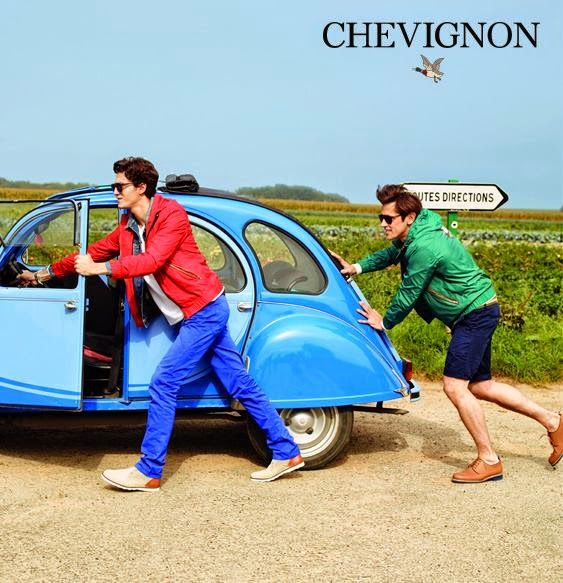 Chevignon, sportwear, Spring 2014, Suits and Shirts,
