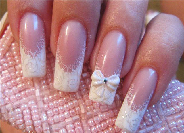 10 Most Beautiful French Manicure New Designs Images 2013 14 World