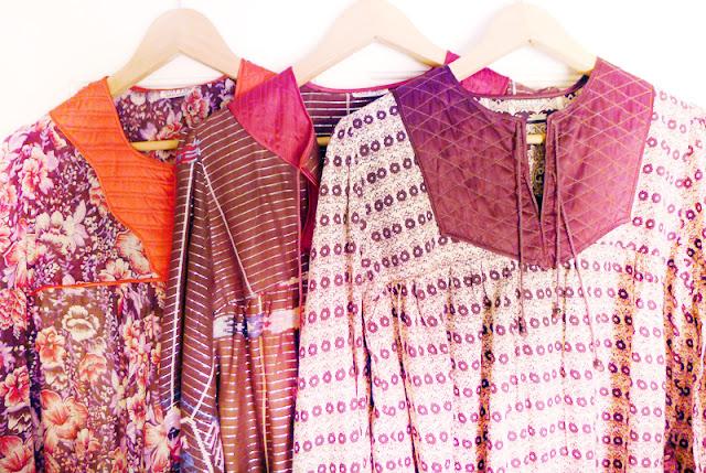 indian gauze dress