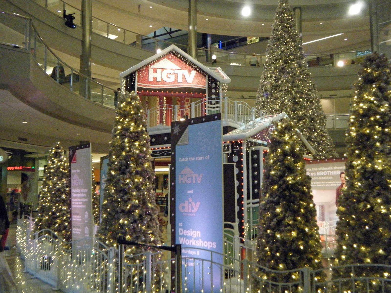 found that hgtv has arrived at the mall - Mall Of America Christmas Decorations