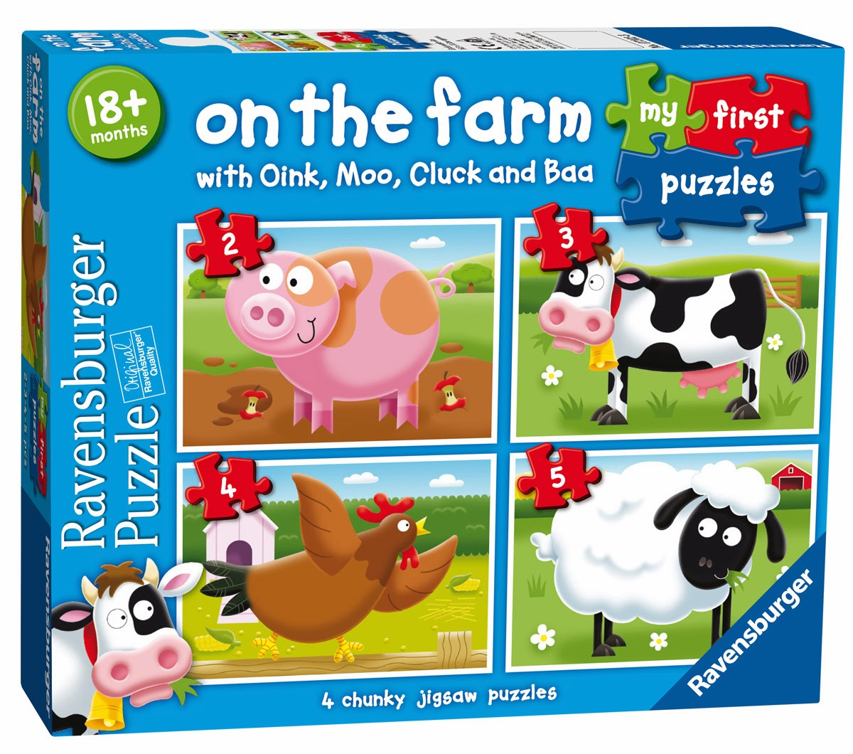 ravensburger puzzle club on the farm with ravensburger. Black Bedroom Furniture Sets. Home Design Ideas