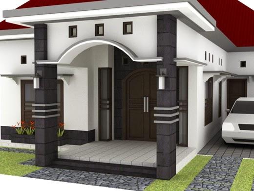 Gambar Desain Teras Depan Rumah Sederhana