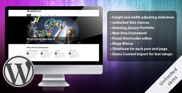 Image for BroadScope – Premium Theme by ThemeForest
