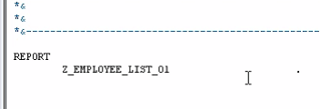 Creating a Program in ABAP
