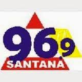 ouvir a Rádio Santana FM 96,9 Itaúna MG