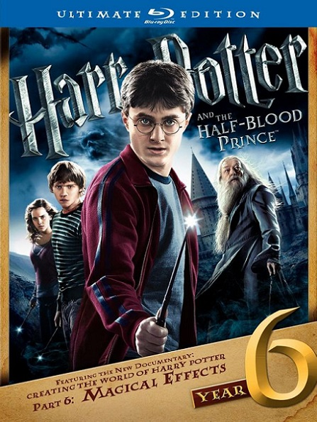 Harry Potter and the Half-Blood Prince (Harry Potter y El Misterio del Príncipe) (2009) 720p y 1080p BDRip mkv Dual Audio AC3 5.1 ch