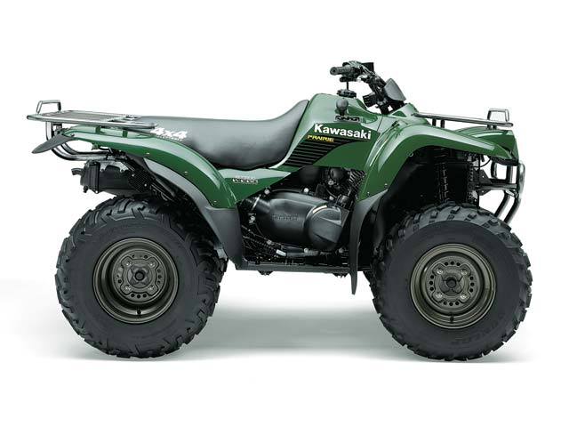 Kawasaki Prairie Rear Brakes