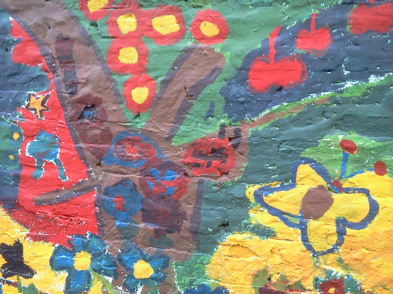 Eco art mural para el d a del ni o vivienda digna y for Dia mural artist