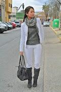 Y vosotras,¿os gusta lucir el color blanco durante el invierno?