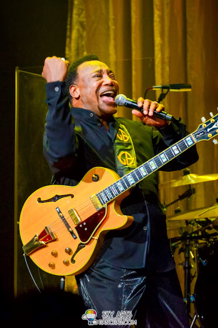 That epic moment of George Benson