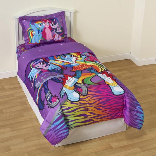 My Little Pony Equestria Girls Bedding Appears