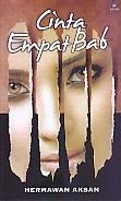 toko buku rahma: buku CINTA EMPAT BAB, pengarang hermawan aksan, penerbit kaki langit kencana