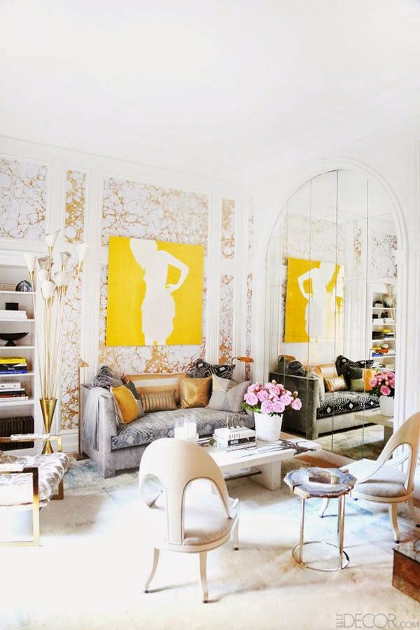 Vintage chic blog decoraci n vintage diy ideas para for Decoracion de paredes con espejos