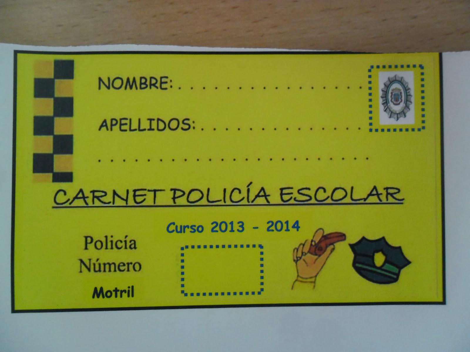 LOS PEQUES DEL GARVAYO: NUESTROS AMIGOS POLICÍAS