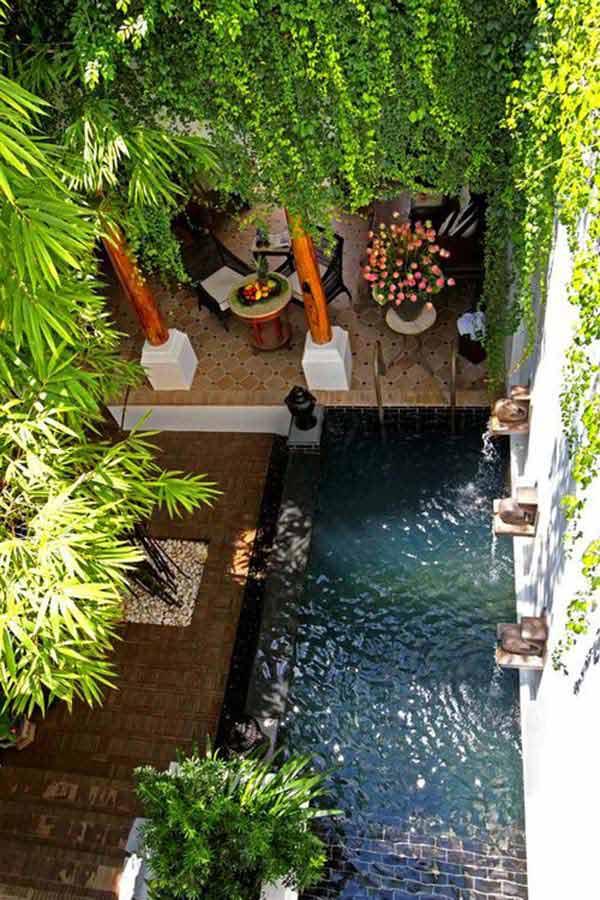 Bể bơi cho sân vườn