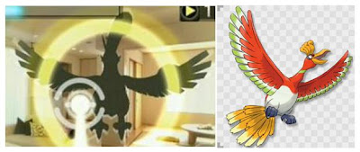 Pokemon AR Searcher Compare with Ho-Oh