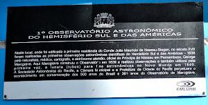 Placa da Casa de Nassau