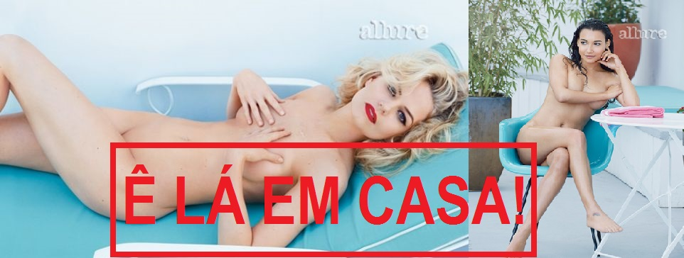 Revista Americana Allure Especializada Em Nudez Art Stica Traz