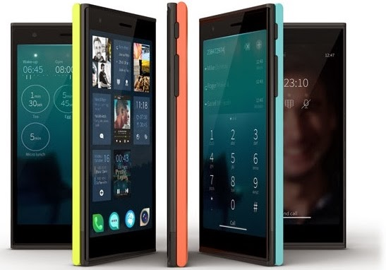 Jolla Phone with the Other Half smart covers