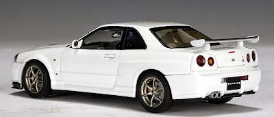 White R34 GTR