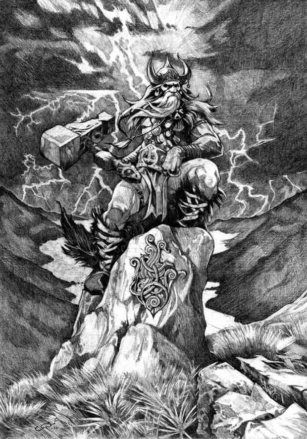 La mythologie nordique vikings francevikings france - Dieu nordique 4 lettres ...
