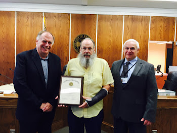 32 Year DPW Employee Terry Satchwell Honored at Retirement