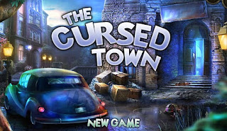 The Cursed Town awesome and horror Hidden Object Online Games free play