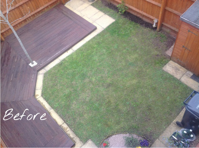 Small garden makeover on a budget just a little less for Small backyard makeover ideas on a budget