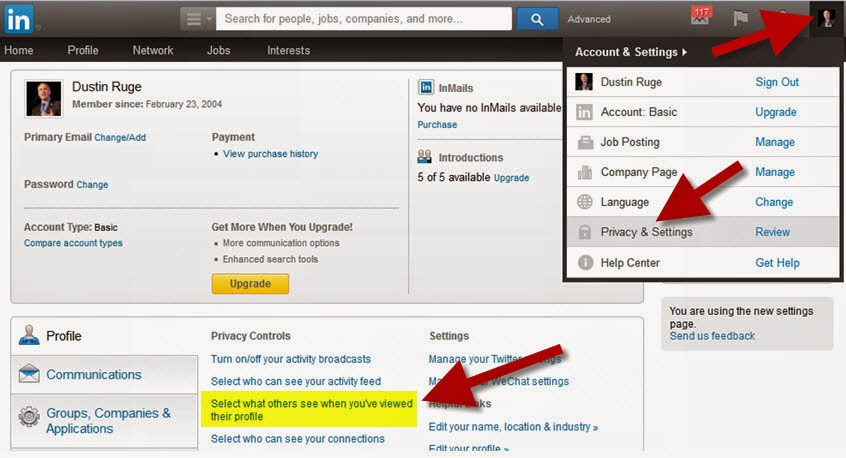 How To Disable LinkedIn Profile Views