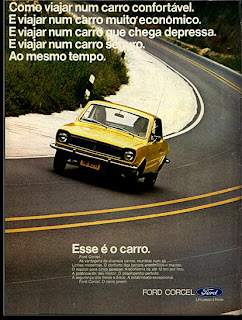 Ford. 1973. brazilian advertising cars in the 70. os anos 70. história da década de 70; Brazil in the 70s; propaganda carros anos 70; Oswaldo Hernandez;