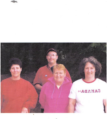 My Mother (pink) RIP And My Sister Alicia (red) and my sister Leeanne RIP ,and me in the background