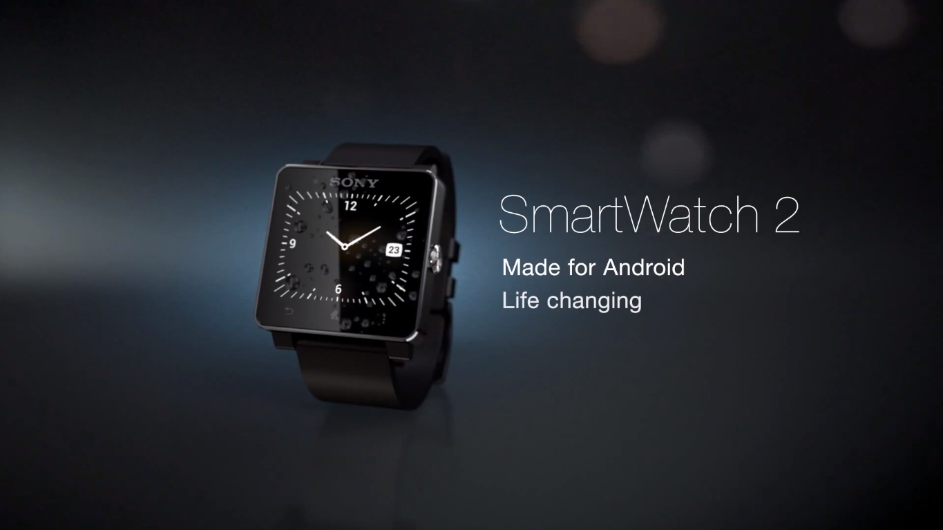 Android Guard Corner: Sony SmartWatch 2 with 1.6-inch LCD ...