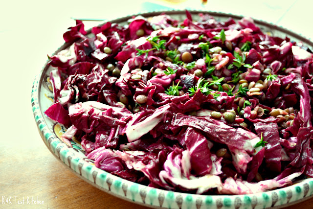 lentil and beet salad recipe