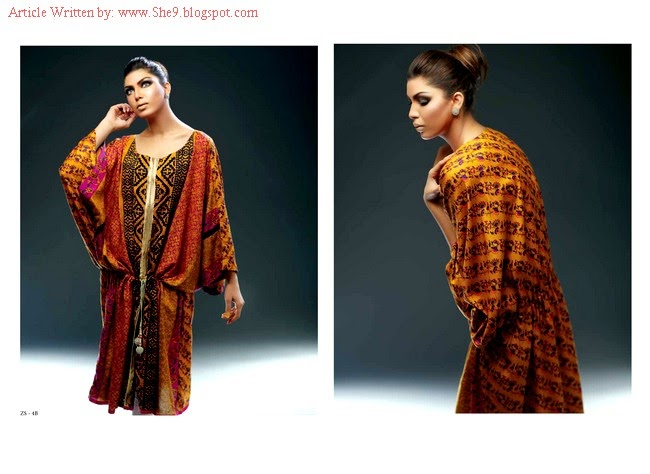 Sania Zahra Latest Kurti Designs