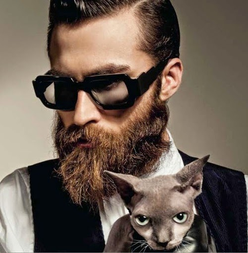 Men With Beard And Glasses