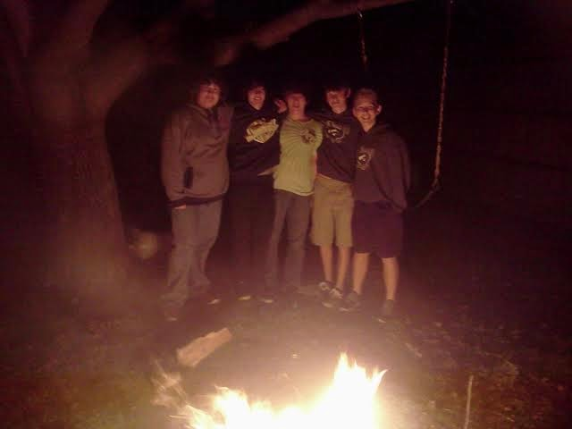 Friends around the Fire