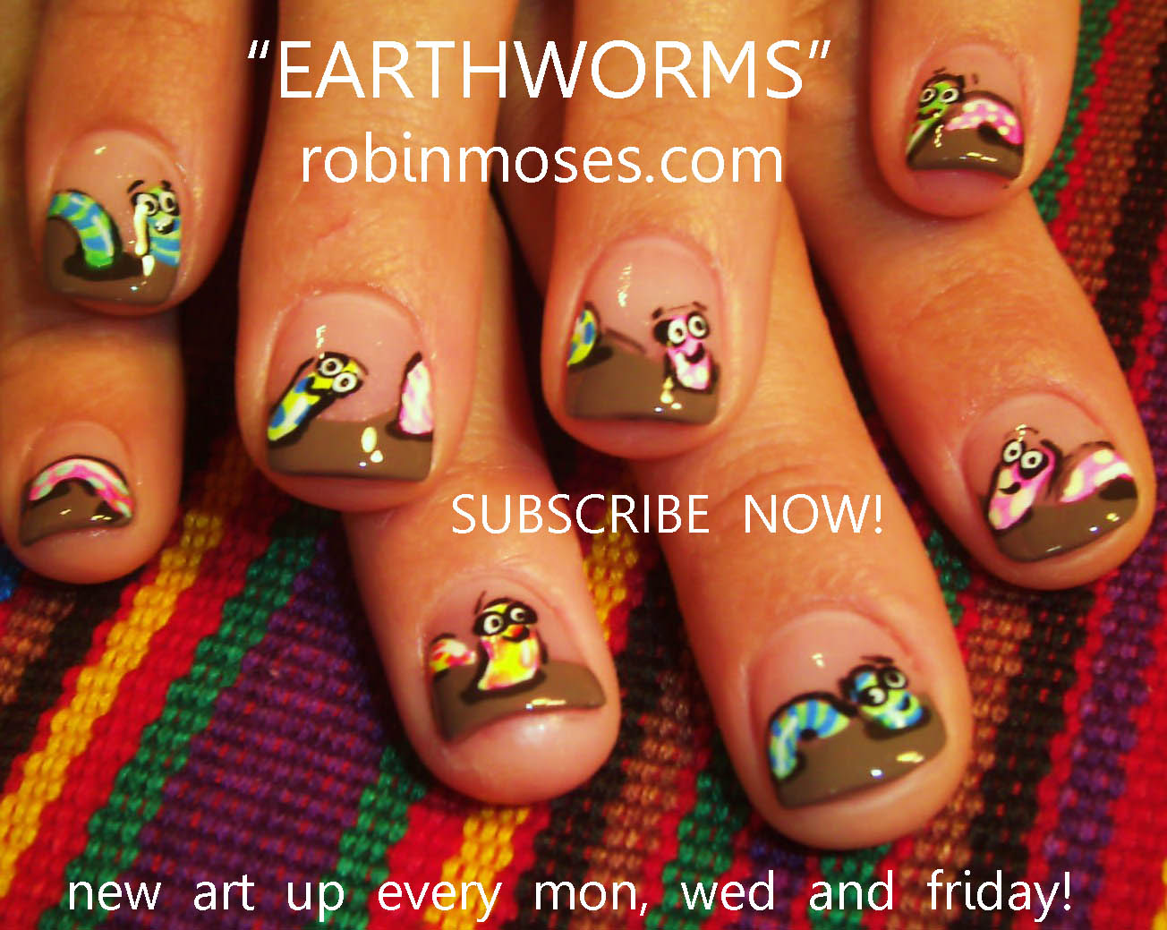 The Breathtaking Easy nail art designs rainbow Digital Imagery
