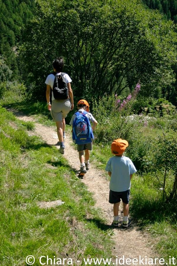 Sentieri adatti ai bambini in Valle d'Aosta: lago d'Arpy